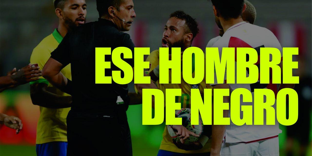 ¿QUIÉN ES JULIO BASCUÑÁN? | Antecedentes del árbitro que fue protagonista entre Perú y Brasil