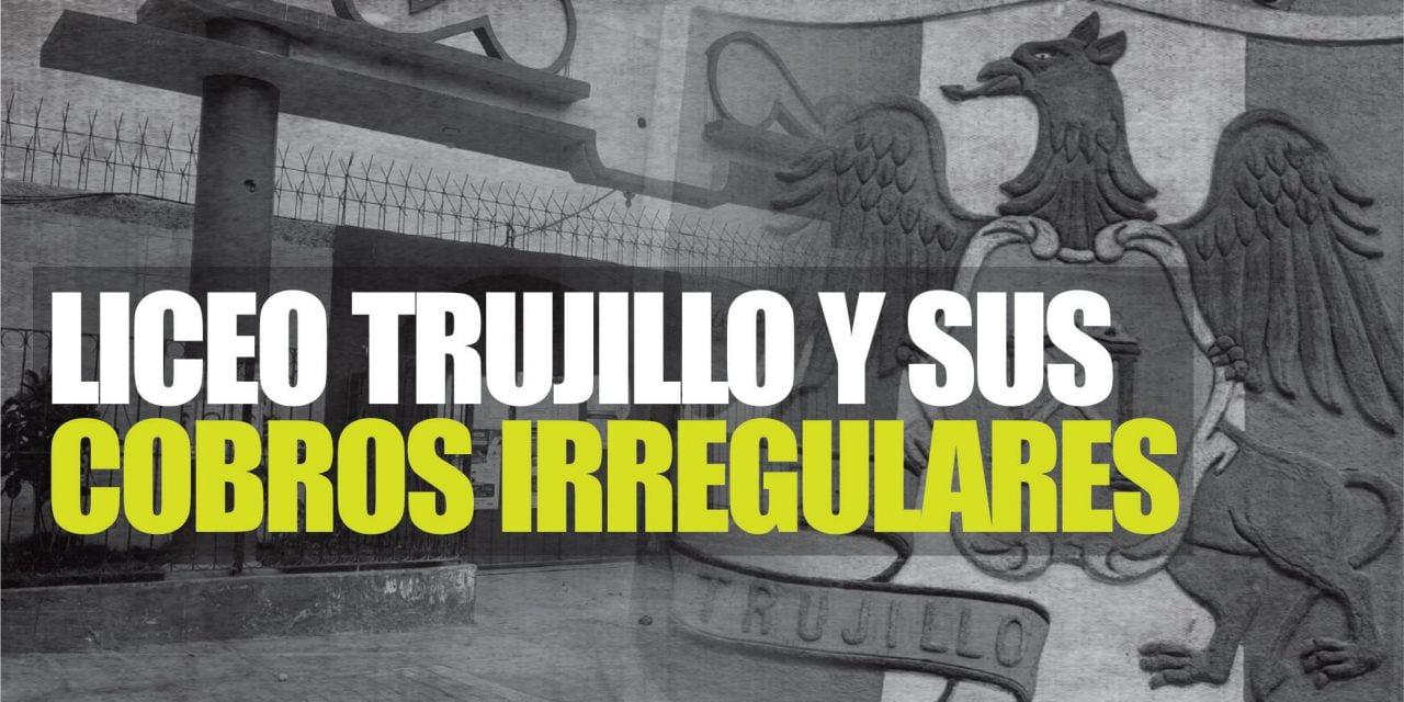 APAFA SIGUE HACIENDO DE LAS SUYAS   Padres de familia de colegio Liceo Trujillo denuncian cobro obligatorio de S/. 401.00 para que institución reciba a sus hijos