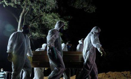 COVID-19 en Brasil: entierros nocturnos, la nueva normalidad del cementerio más grande de Latinoamérica