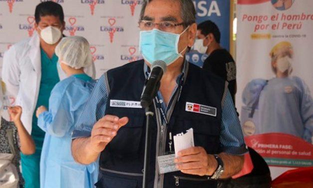 COVID-19: Ministerio de Salud advierte sobre el peligro de exponerse en mítines electorales