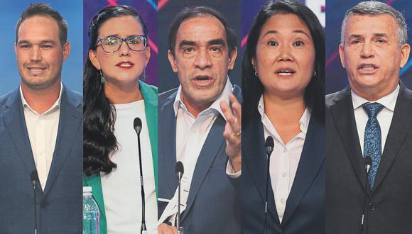 Cierre de campaña: candidatos presidenciales salieron en busca de los últimos votos