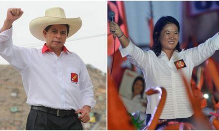Keiko Fujimori sube, Pedro Castillo cae, ahora solo cinco puntos los separan