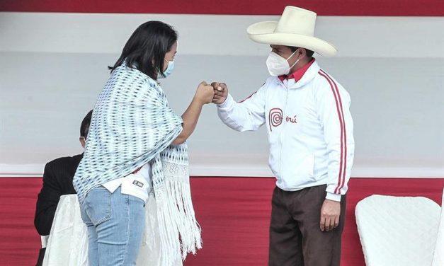 "Fujimori vuelve a retar a Castillo para debatir este sábado: ""veremos si se atreve a llegar"""