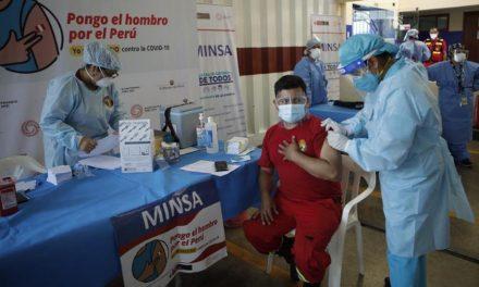 Trujillo: mañana inicia la vacunación contra la COVID-19, a bomberos y serenos