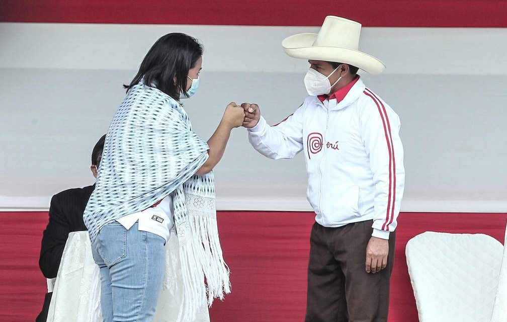Keiko Fujimori y Pedro Castillo jurarán por la Proclama Ciudadana