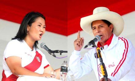 Empate técnico: Pedro Castillo obtiene 42.6% y Keiko Fujimori 41.7% , según Datum