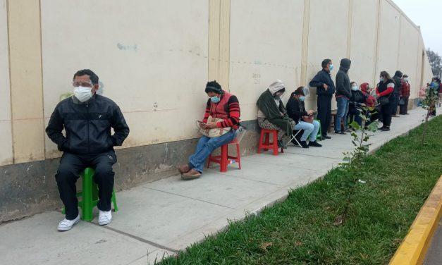 Trujillo: continúa proceso de vacunación para mayores de 70 años, por segundo día consecutivo