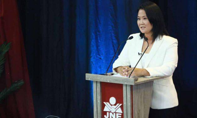 """Keiko Fujimori pide perdón: """"reconozco que en el pasado no estuve a la altura"""""""