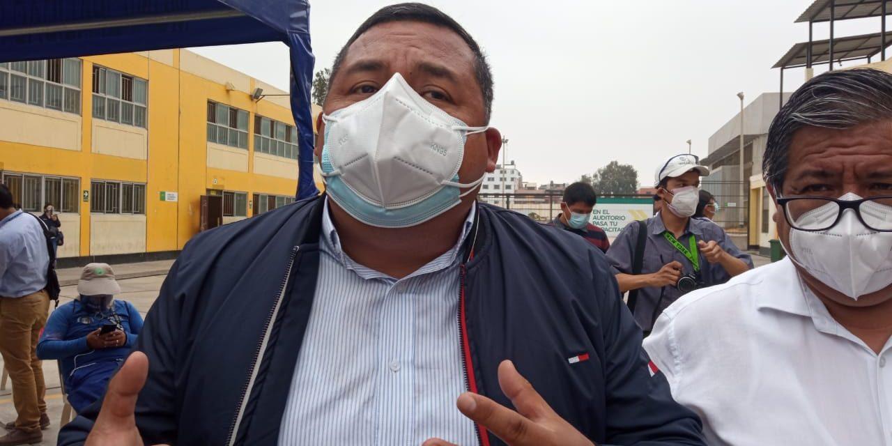 Alcalde de Trujillo reconoce el respaldo de trabajadores ediles para conseguir vacunas contra la COVID-19
