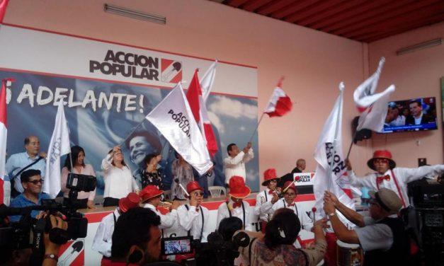 Acción Popular definirá, este sábado, si apoya a Keiko Fujimori o Pedro Castillo