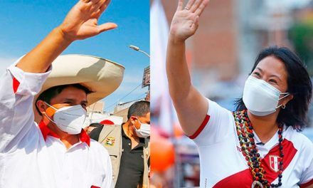 Datum: Castillo tiene 44% y Keiko alcanza 41%, en primer simulacro de votación