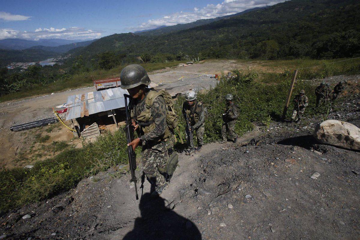 24-05-2021 Militares en la región del VRAEM, donde tiene presencia la guerrilla maoísta Sendero Luminoso POLITICA SUDAMÉRICA PERÚ EL COMERCIO / ZUMA PRESS / CONTACTOPHOTO