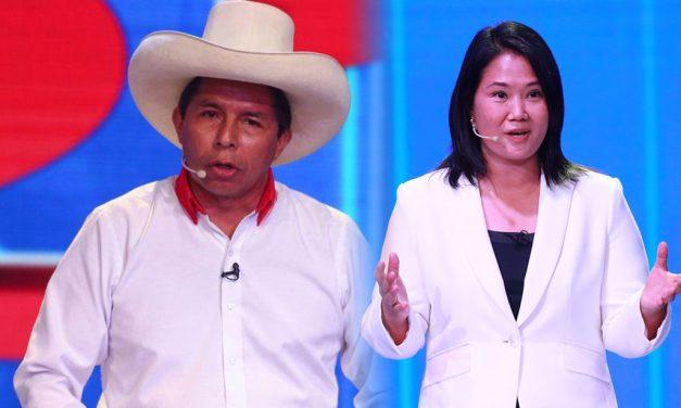 Elecciones 2021: estos son los temas que se abordarán en los debates entre Perú Libre y Fuerza Popular
