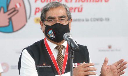 Ministro Ugarte confirma que mañana continuará proceso de vacunación contra el COVID-19