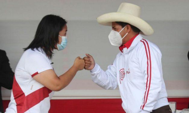 Resultados ONPE al 94.289% de actas contabilizadas: Pedro Castillo 50.267% y Keiko Fujimori 49.733%