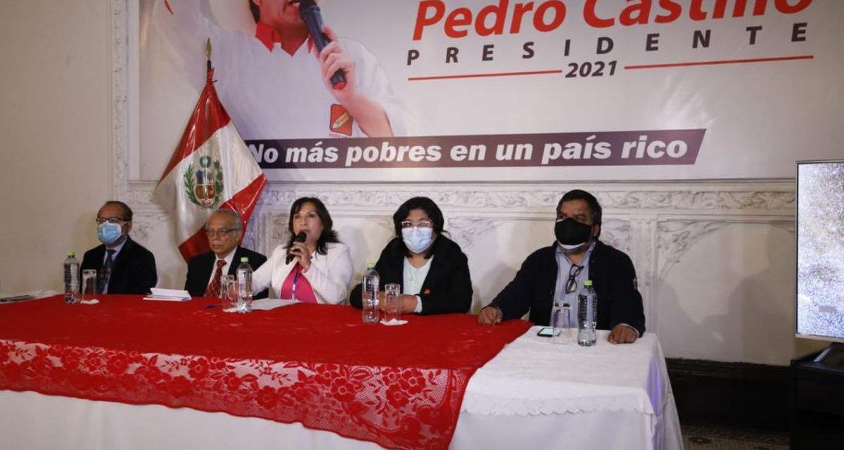 Perú Libre responde a las insinuaciones de irregularidades en las mesas de sufragio
