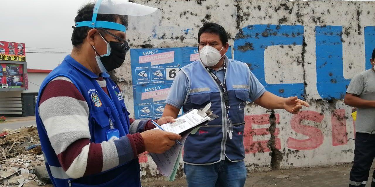 Trujillo: multarán a ciudadanos por arrojar desmonte en la vía pública