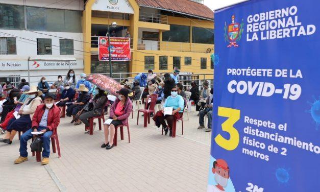 La Libertad: este miércoles se reinicia la vacunación contra la COVID-19
