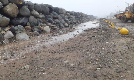 Trujillo: fuertes oleajes perjudican a pobladores del balneario Buenos Aires