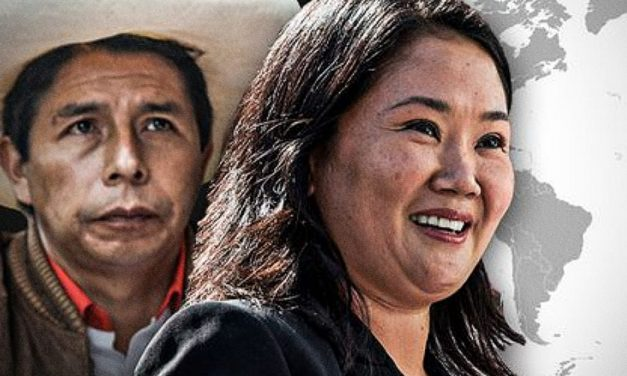 Keiko Fujimori supera a Pedro Castillo en EE.UU. al 71.743% de actas procesadas, según ONPE