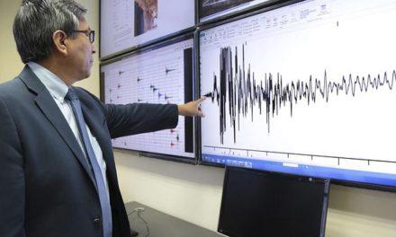 IGP registró 16 réplicas tras temblor de 6.0 de magnitud en Mala