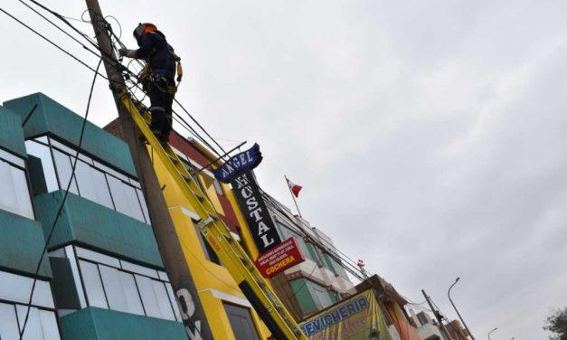 Trujillo: más de 800 familias se beneficiaban con conexiones clandestinas