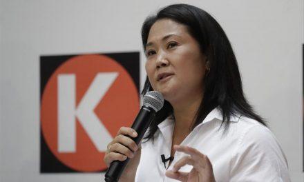 """Keiko Fujimori: """"todavía faltan contabilizar las actas que vienen de nuestros compatriotas en el exterior"""""""