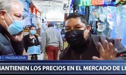 """Comerciante aclara a periodista: """"los precios se mantienen, no hay que crear miedo"""""""