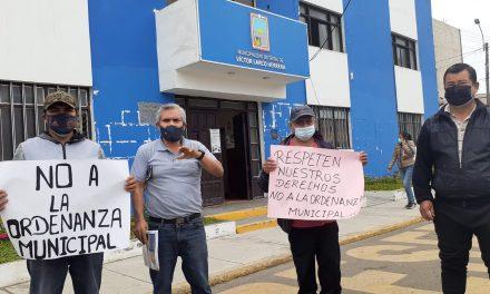 Trujillo: comerciantes de mercado Santa Rosa se oponen a nueva ordenanza municipal