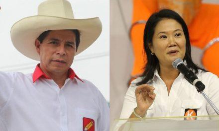ONPE al 99.579% de actas contabilizadas: Castillo reduce ventaja a 59,777 votos con Fujimori