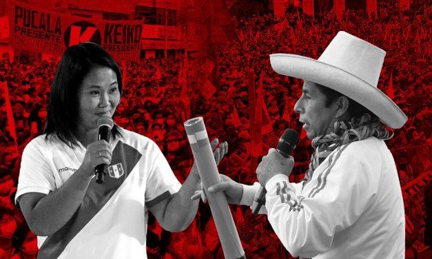 Cierre de campaña: Castillo y Fujimori encabezaron mítines en Plaza Dos de Mayo y Villa El Salvador, respectivamente