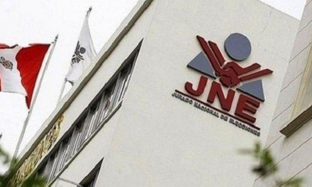 JNE: desde mañana quedan prohibidas las reuniones políticas