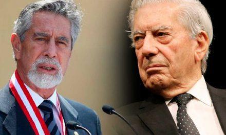 Sagasti confirmó que se comunicó con Vargas Llosa en un esfuerzo por mantener la serenidad y la calma
