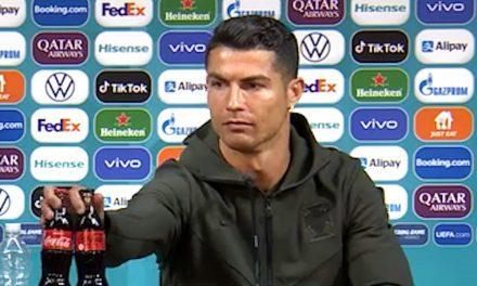La pérdida billonaria que causó Cristiano Ronaldo a Coca Cola