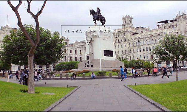 Plaza San Martín descartado para mítines de cierre de campaña